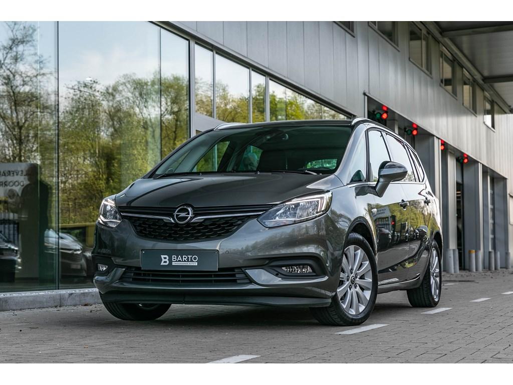 Tweedehands te koop: Opel Zafira Grijs - 14b 120pk - 7zit - Camera - Navi - Auto Airco - Innovation