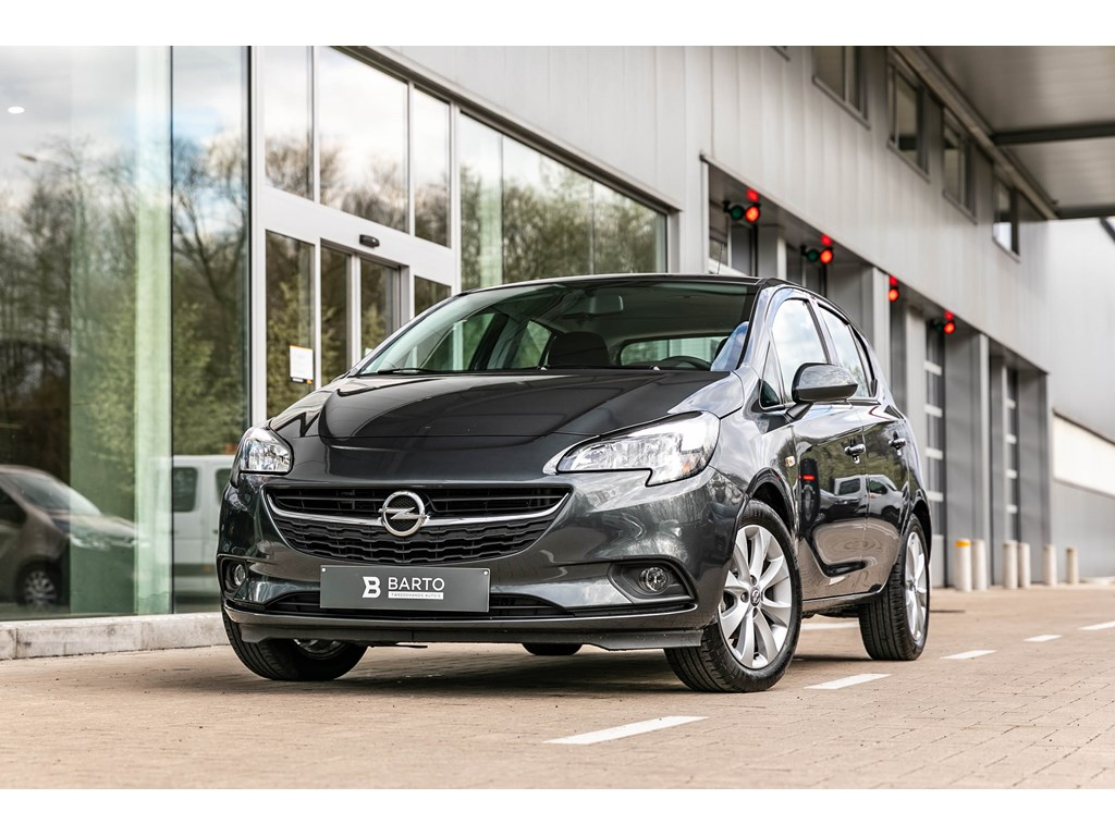 Tweedehands te koop: Opel Corsa Grijs - 14b 90pk - Intellilink - Cruisectrl - Airco - Bluetooth -