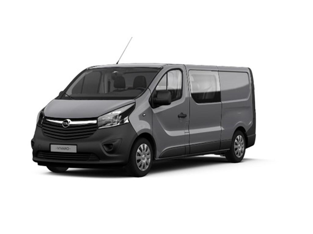 Tweedehands te koop: Opel Vivaro Grijs - 16 CDTi Dubbele Cabine Edition L2H1 6pl - Nieuw
