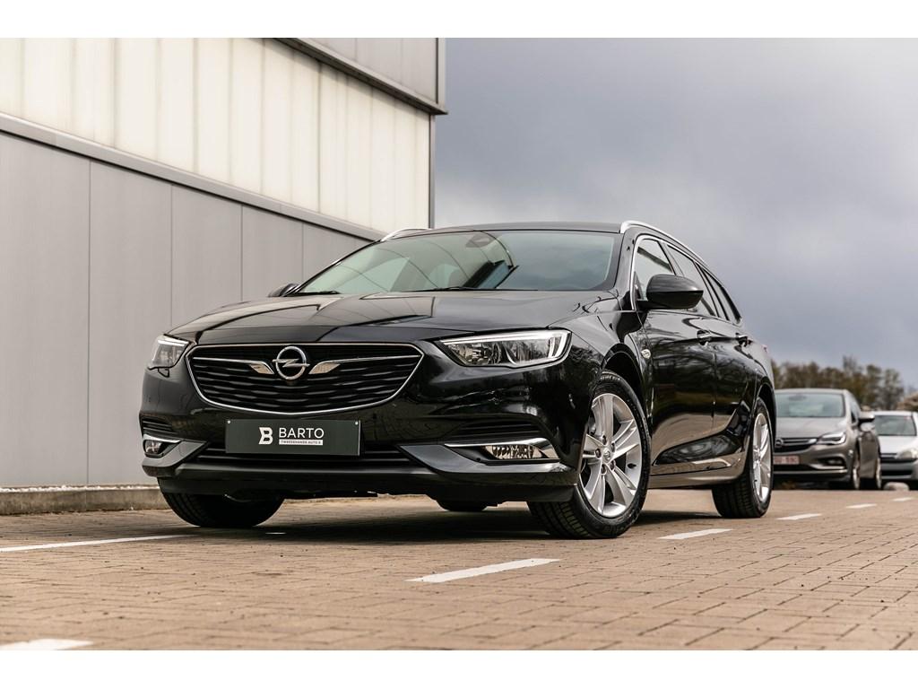 Tweedehands te koop: Opel Insignia Zwart - 15b 140pk - Sportzetels - Camera - Parkeerhulp - WEINIG KMs