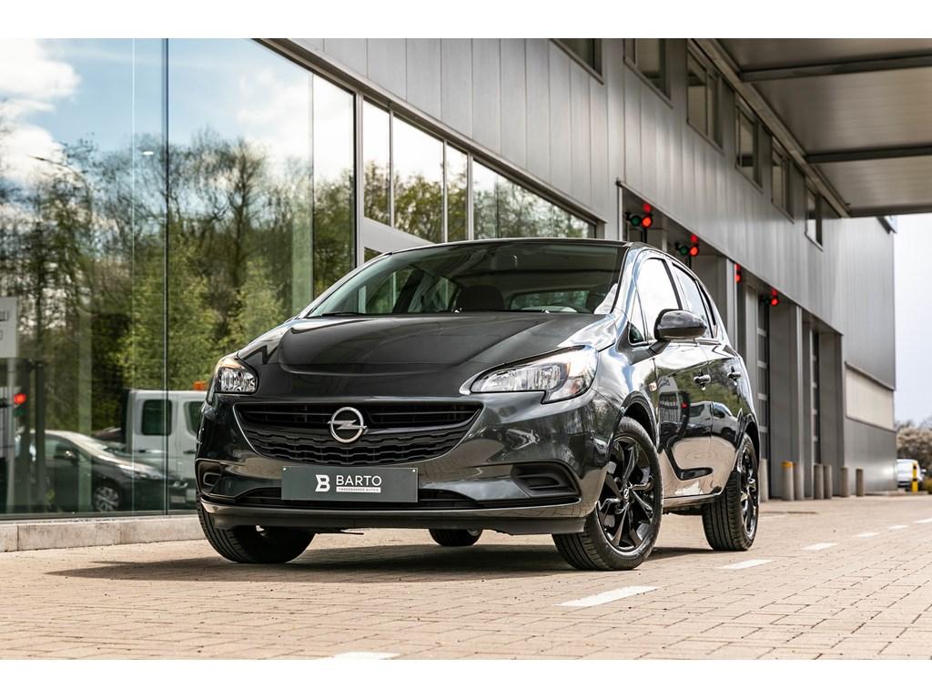 Tweedehands te koop: Opel Corsa Grijs - 14B 90pk - Black Edition - Navi - Airco - Sportzetels