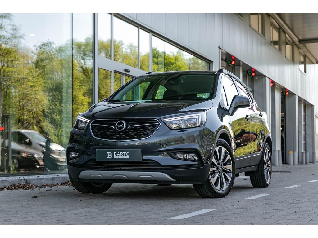 Tweedehands te koop: Opel Mokka X Grijs - 14T Autom - Innovation - Leder - Navi - Verwarmde zetelsstuurwiel -