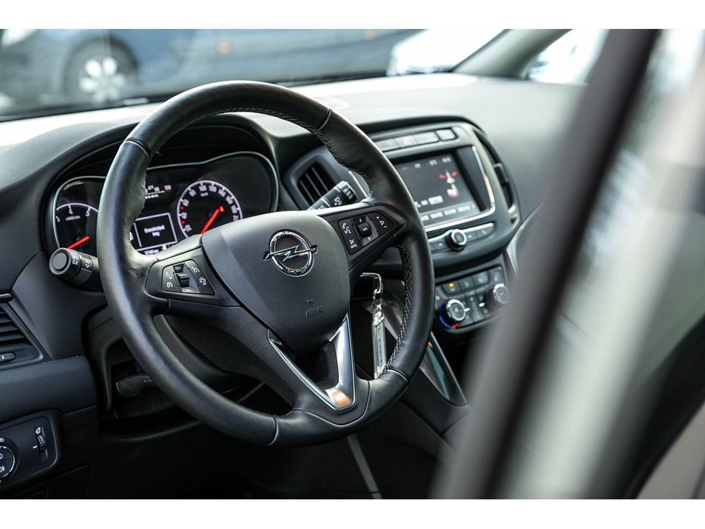Tweedehands te koop: Opel Zafira Grijs - 16 Benz 136pk Innovation - AUTOMAAT - 7pl - Camera - Dodehoek - Offlane -