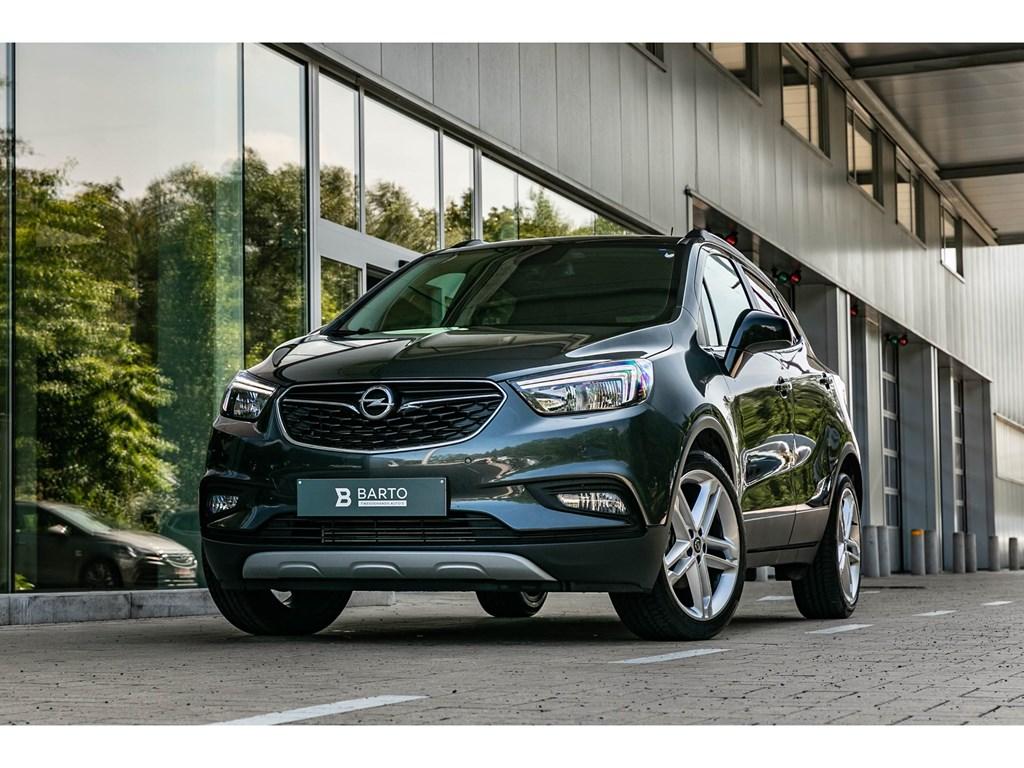 Tweedehands te koop: Opel Mokka Grijs - 14b 140pk - 19 Alu velg - Half leder - Camera - Keyless -