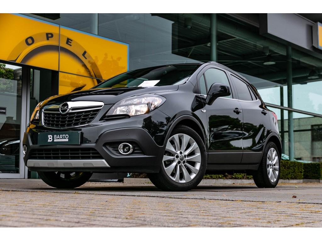 Tweedehands te koop: Opel Mokka Zwart - Cosmo 14 Turbo Benz 140pk StartStop - Leder - Navi
