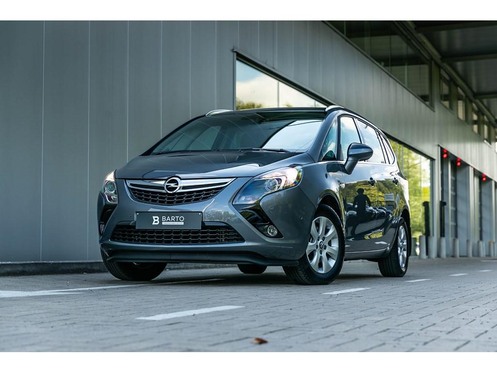 Tweedehands te koop: Opel Zafira Tourer Grijs - 14 benz CameraDodehoeksensSet WinterwielenParkeersens va