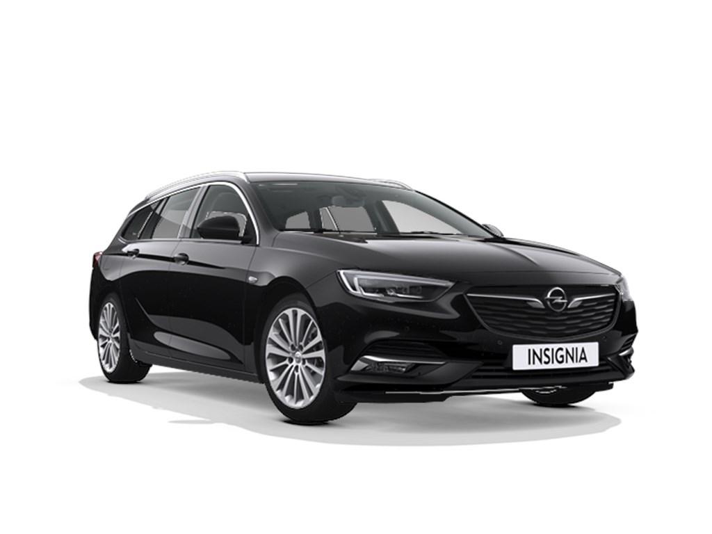 Tweedehands te koop: Opel Insignia Zwart - Sports Tourer Innovation - NIEUW - 15 Turbo Automaat 6 StartStop 165pk - Leder - Navi -