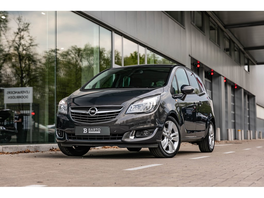 Tweedehands te koop: Opel Meriva Grijs - 14b 120pk AutomCameraNaviAuto AircoCruisectrl