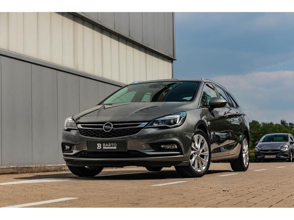Tweedehands te koop: Opel Astra Grijs - 14 150pk AutomCameraElektr KofferVerwarmde Zetels