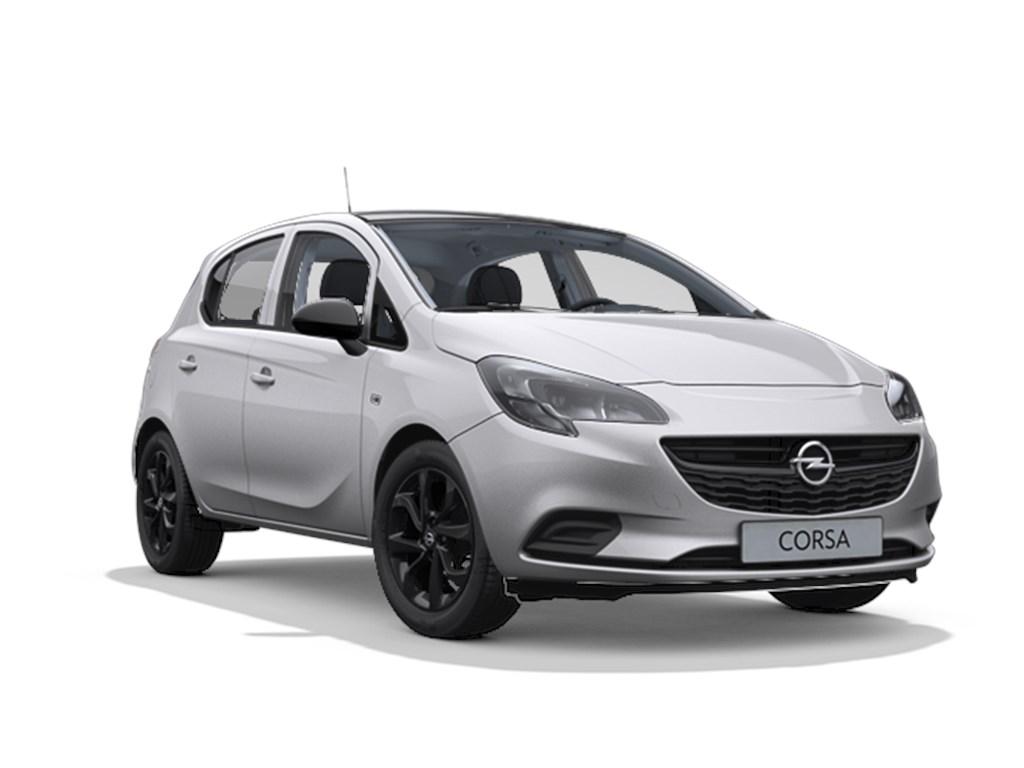 Opel-Corsa-Zilver-5-deurs-Black-Edition-12-Benz-70pk-Nieuw