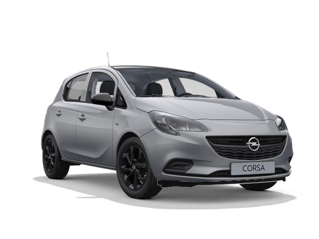 Tweedehands te koop: Opel Corsa Grijs - 5-deurs Black Edition 14 Benz 90pk - Automaat 6 - Nieuw