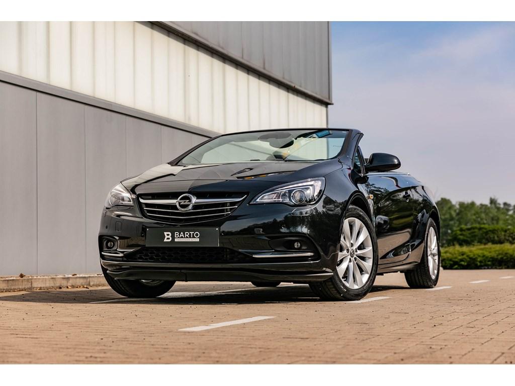 Tweedehands te koop: Opel Cascada Zwart - 14b 140pk CameraLederElektr StoelenXenonNavi