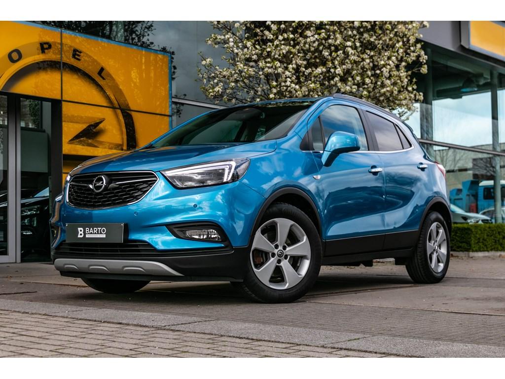 Tweedehands te koop: Opel Mokka Blauw - Innovation 14 TurboAutomaatLederCameraNaviParkeersens