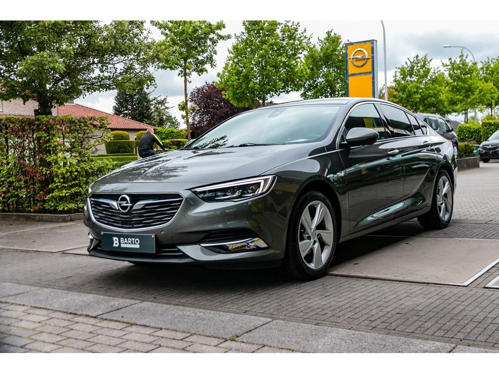 Tweedehands te koop: Opel Insignia Grijs - Grand Sport 15 Benz Turbo 165pkLPGLedMatrixLeder360Camera