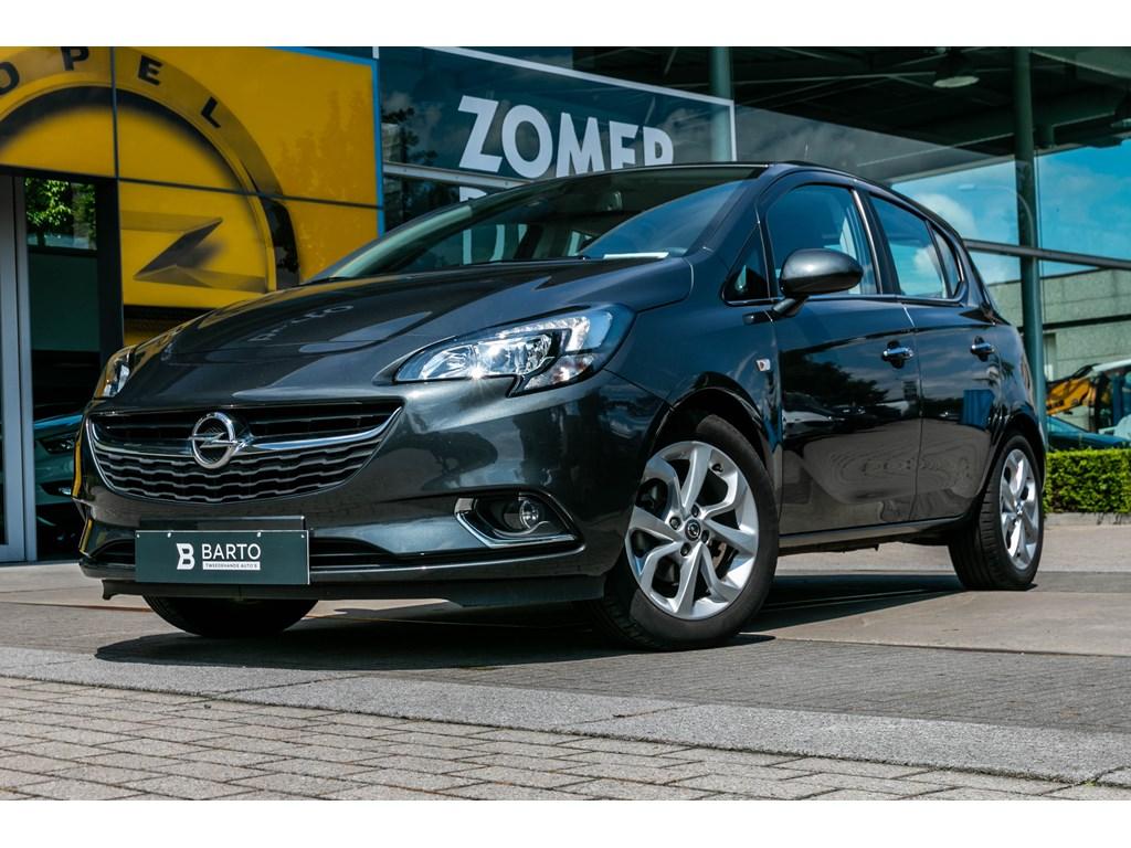 Tweedehands te koop: Opel Corsa Grijs - 14 Benz 90pkCosmoNavigatieParkeersensoren