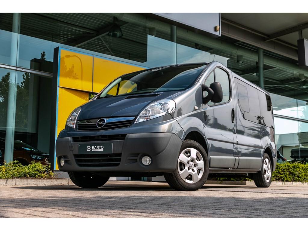 Tweedehands te koop: Opel Vivaro Grijs - COMBI L1H1 5pl MTM 2700 20D 90pk - Navi - Donker Glas - Cruise Control