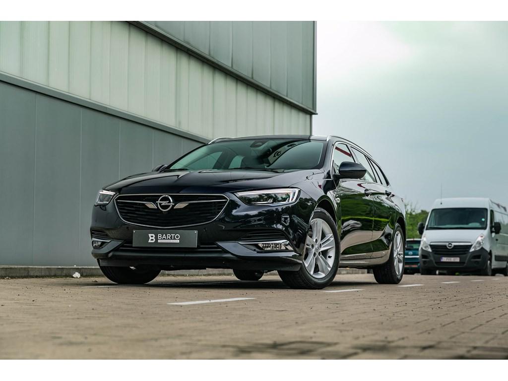 Tweedehands te koop: Opel Insignia Blauw - Benz 165Pk Leder LED ALU velg Autom