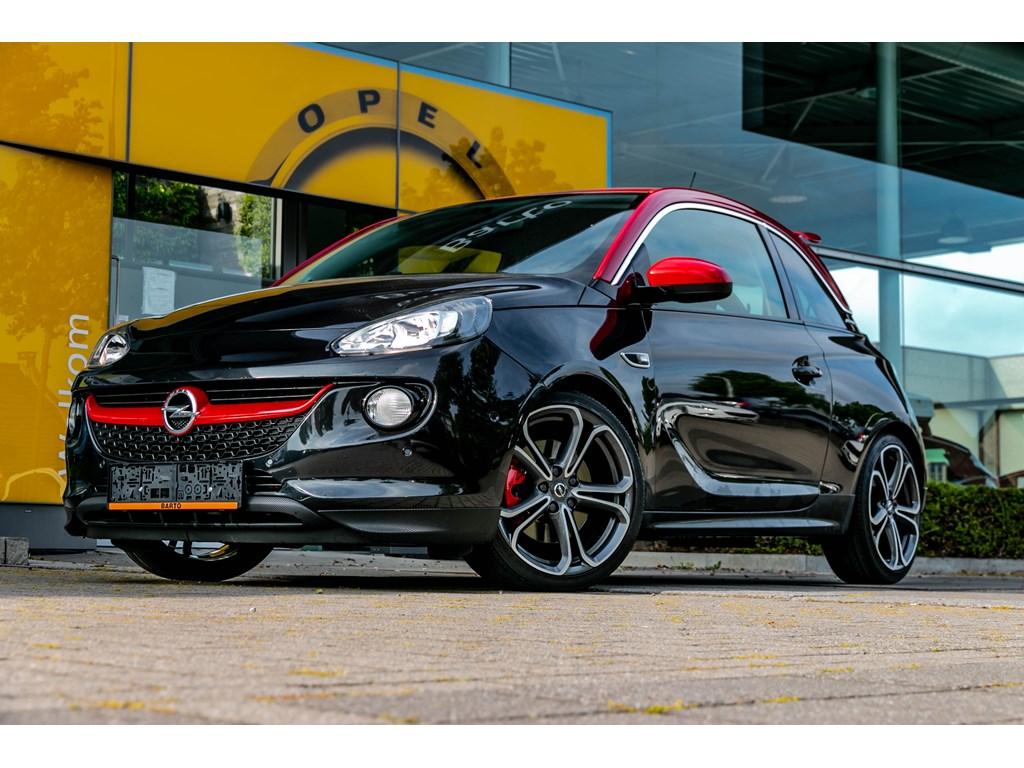 Tweedehands te koop: Opel ADAM Zwart - ADAM S 150pk Recaro Verwarmde zetelsstuurwiel