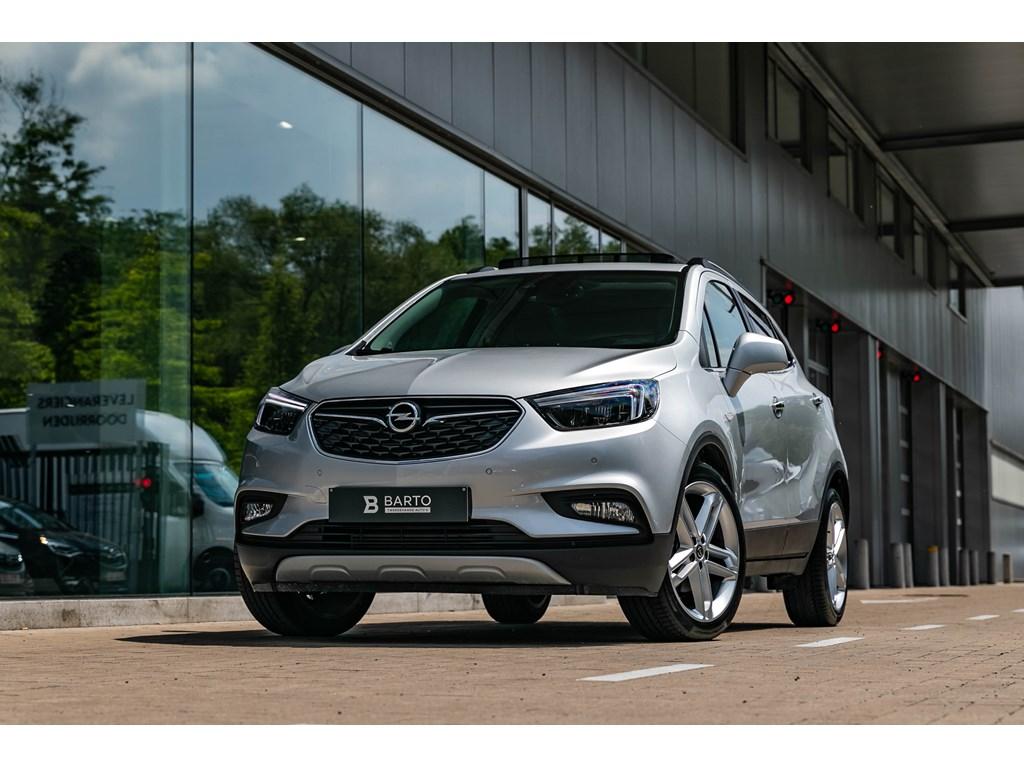 Tweedehands te koop: Opel Mokka Zilver - 14T140pkOpen DakLED matrixLederCamera19 wielen
