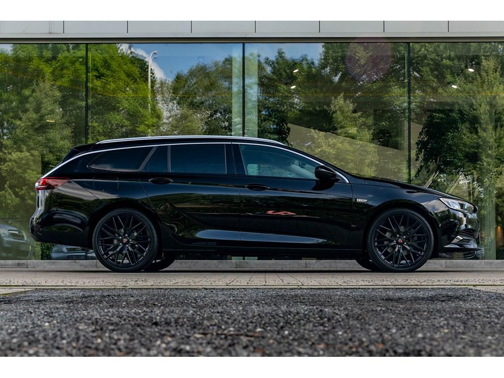 Tweedehands te koop: Opel Insignia Zwart - UNIEK Benz165pkAutomaatFull BlackLeder20