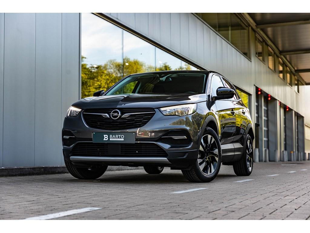 Tweedehands te koop: Opel Grandland X Grijs - Turbo ECOTEC Innovation AUT SS