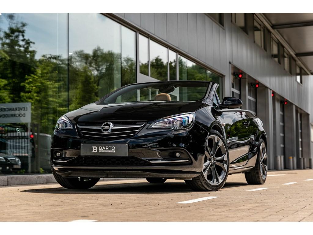 Tweedehands te koop: Opel Cascada Zwart - 16Turbo 170pkAUTOMPremium Leder20Xenon