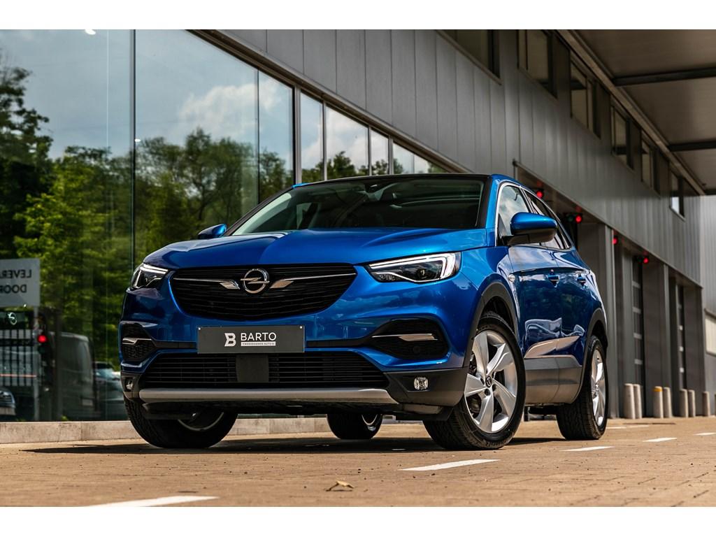 Tweedehands te koop: Opel Grandland X Blauw - Innovation 16CDTI 120pk - Panor Dak LED koplampen 18 velgen