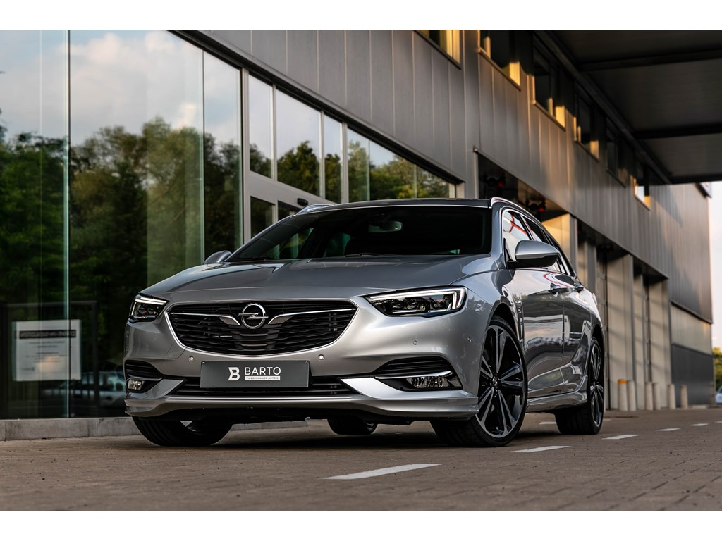 Tweedehands te koop: Opel Insignia Zilver - 20T 260pkBreakOPC Line20 aluErgonzetels