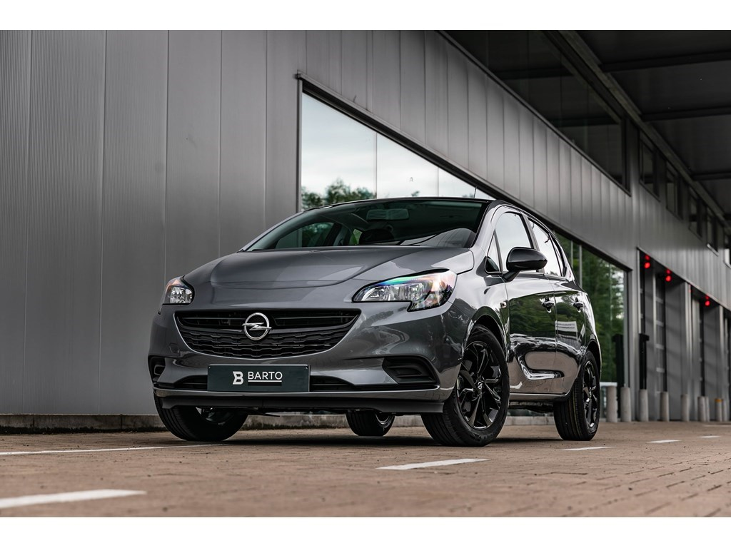 Tweedehands te koop: Opel Corsa Grijs - 12BenzBlack EditionNaviAircosportzetels
