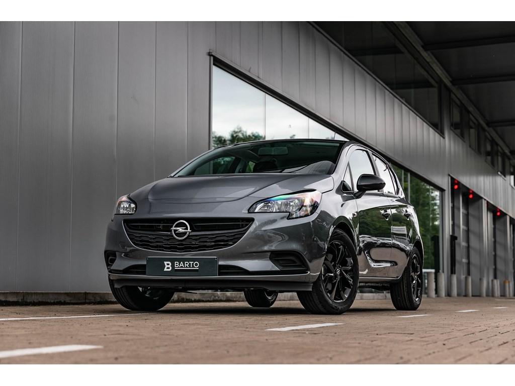 Tweedehands te koop: Opel Corsa Grijs - 12Benz Black Edition Navigatie Sportzetels