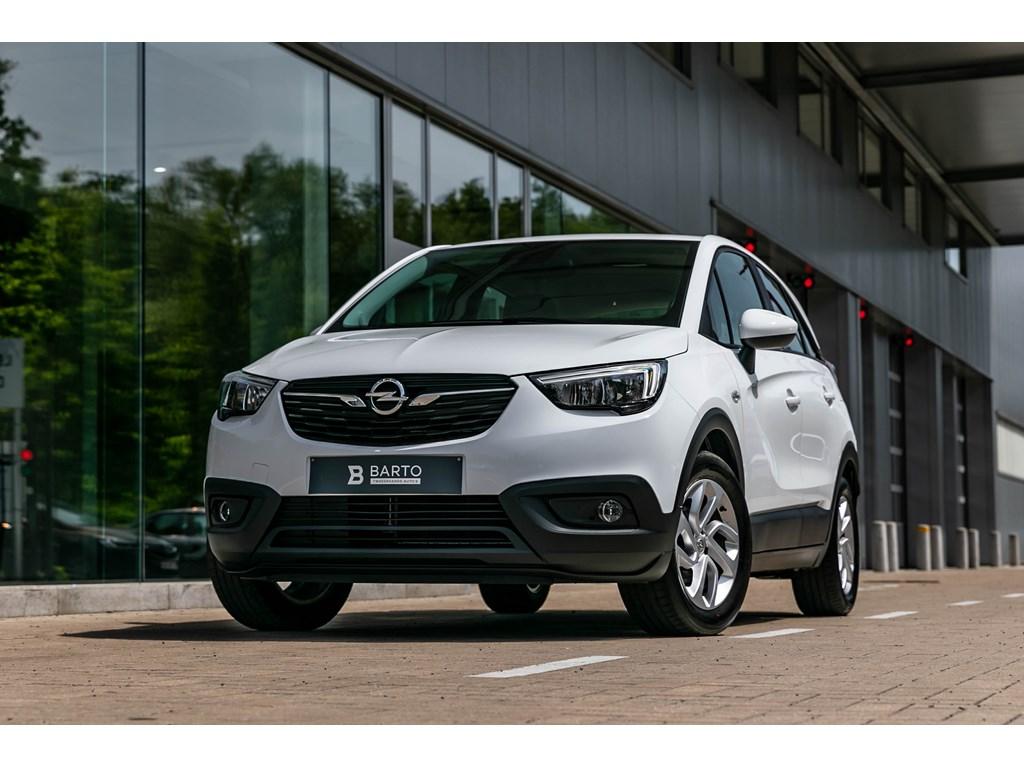 Tweedehands te koop: Opel Crossland X Wit - 12 Benz Navigatie Parkeersens Alu velgen