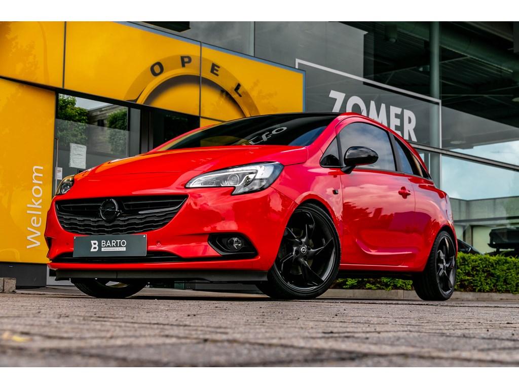 Tweedehands te koop: Opel Corsa Rood - 10 TurboBlack EditionCameraIntellilink