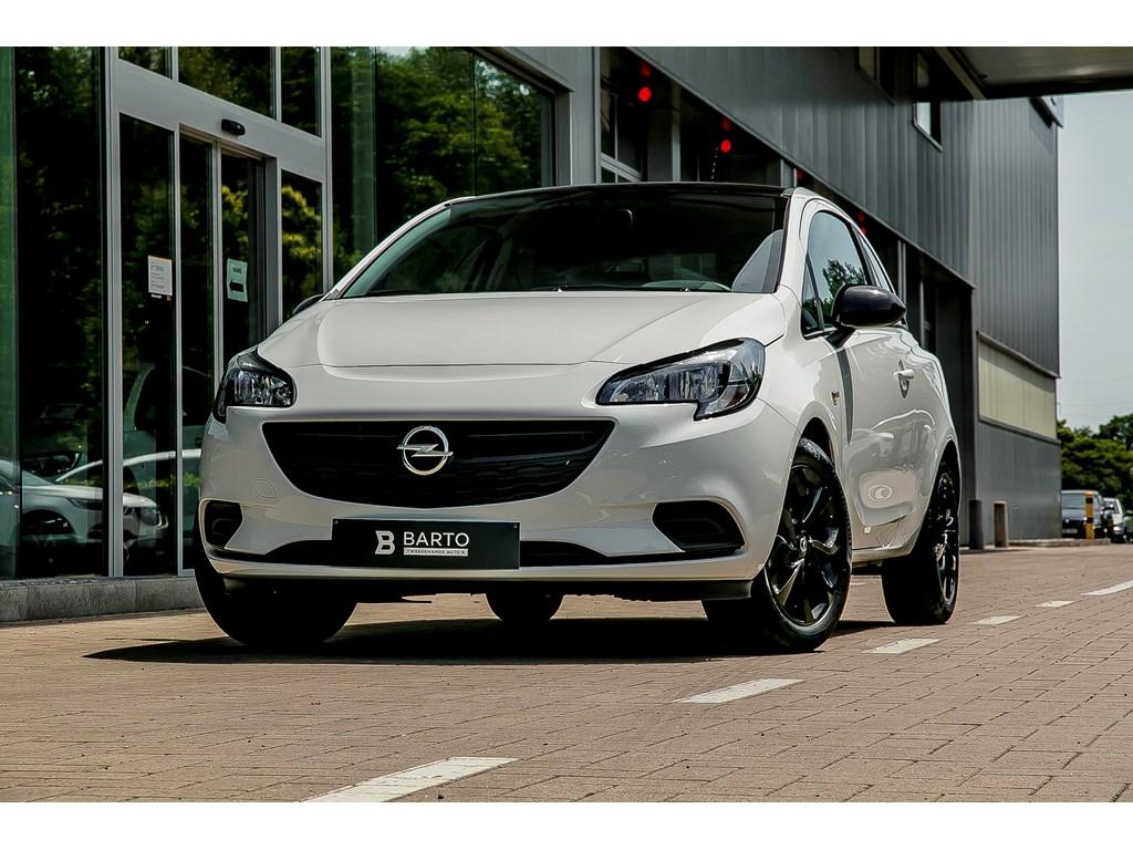 Tweedehands te koop: Opel Corsa Wit - 12 BenzBlack EditionNaviCruisecontrol