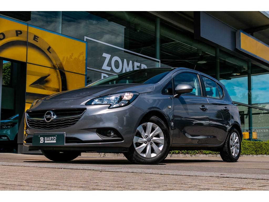 Tweedehands te koop: Opel Corsa Grijs - 14benzAutomaatParkeersensAirco