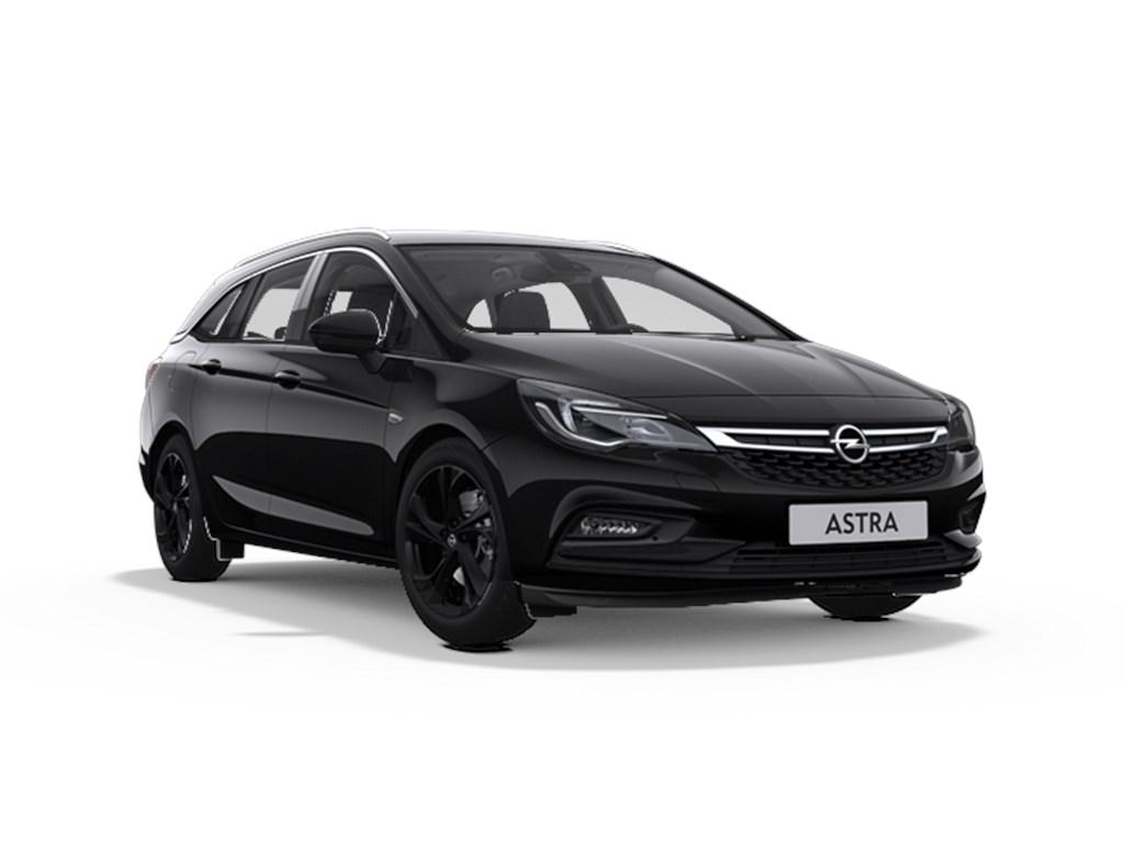 Tweedehands te koop: Opel Astra Zwart - Sports Tourer 14 Turbo Benzine 125pk Innovation - Nieuw - Navigatie -