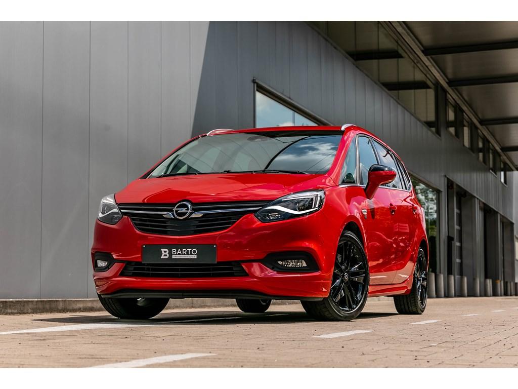 Tweedehands te koop: Opel Zafira Rood - 170pkLederAdaptive CruisectrlOPCline7zit