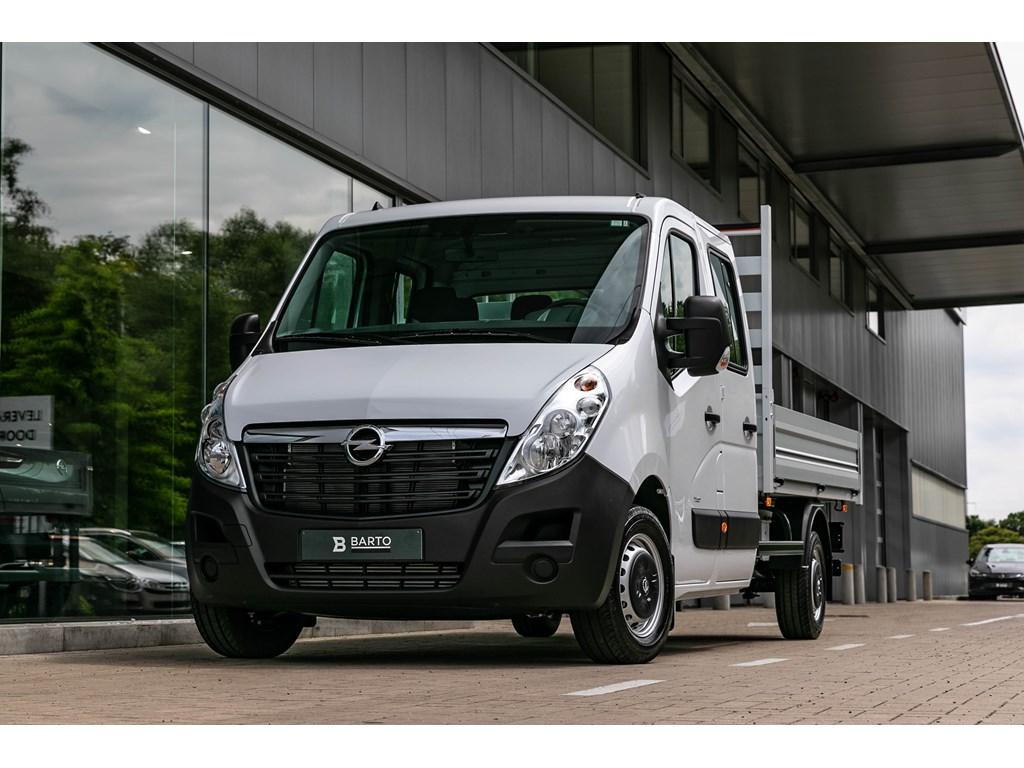 Tweedehands te koop: Opel Movano Wit - Open Laadbak Dubbele Cabine 23 CDTi Biturbo SS Manueel 6 - 145pk