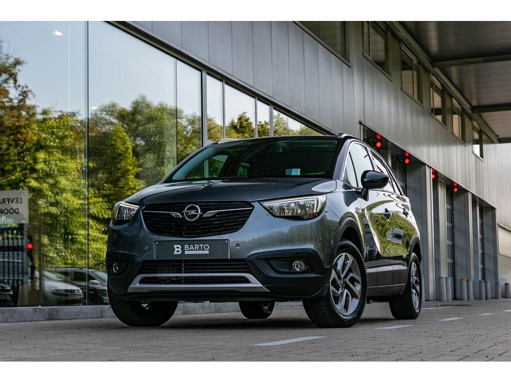 Tweedehands te koop: Opel Crossland X Grijs - AutomCameraDodehoeksensHeadupParkeerhulpVerwarmde Zetels