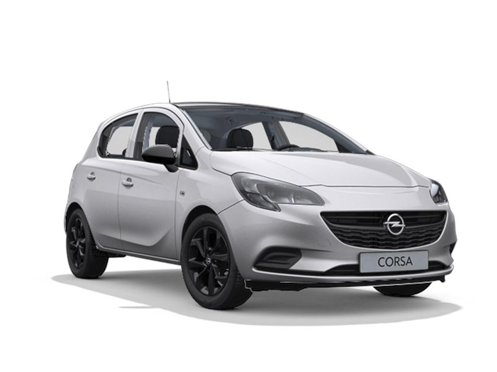 Tweedehands te koop: Opel Corsa Zilver - 5-deurs Black Edition 14 Benz 90pk - Automaat 6 - Nieuw