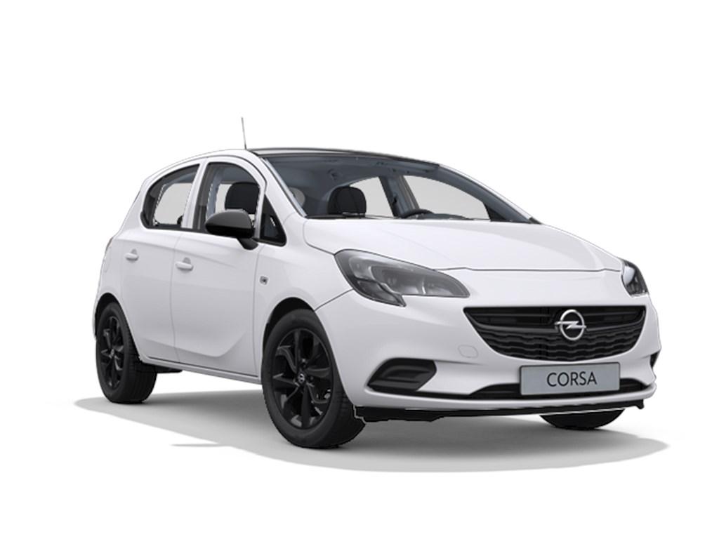 Opel-Corsa-Wit-5-deurs-Black-Edition-12-Benz-70pk-Nieuw