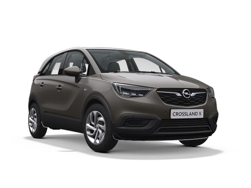 Tweedehands te koop: Opel Crossland X Grijs - Edition 12 Turbo Automaat 6 StartStop 110pk 81kw - Nieuw