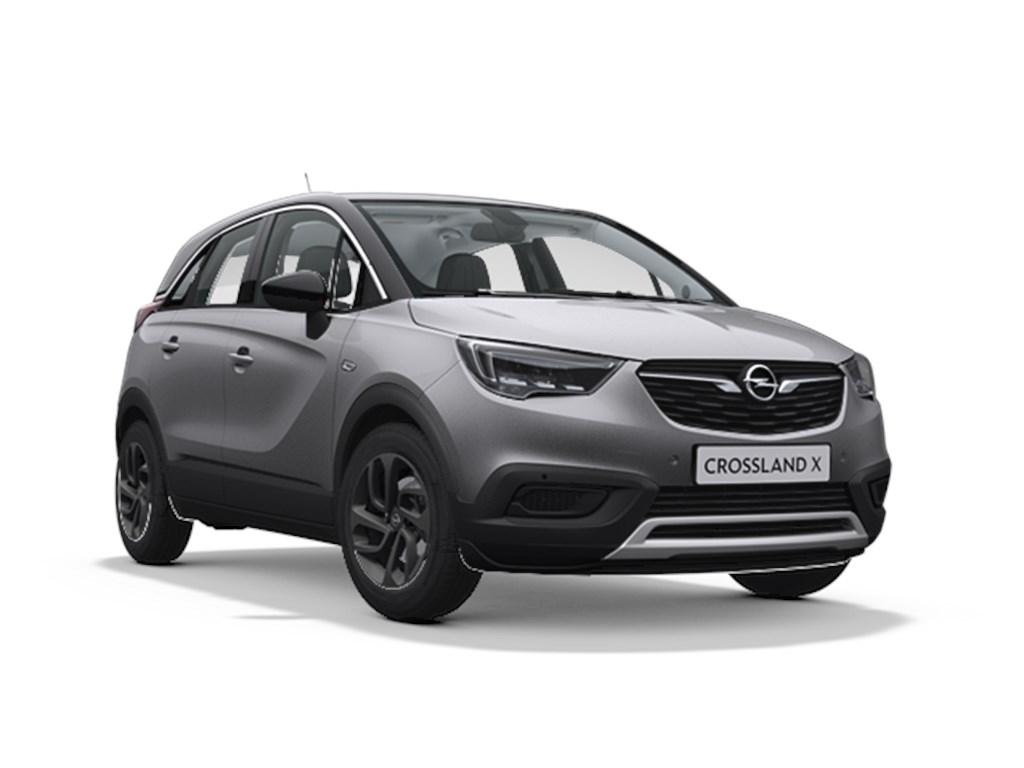 Tweedehands te koop: Opel Crossland X Zilver - 120 Years Edition 12 Turbo Automaat 6 StartStop 110pk 81kw - Nieuw