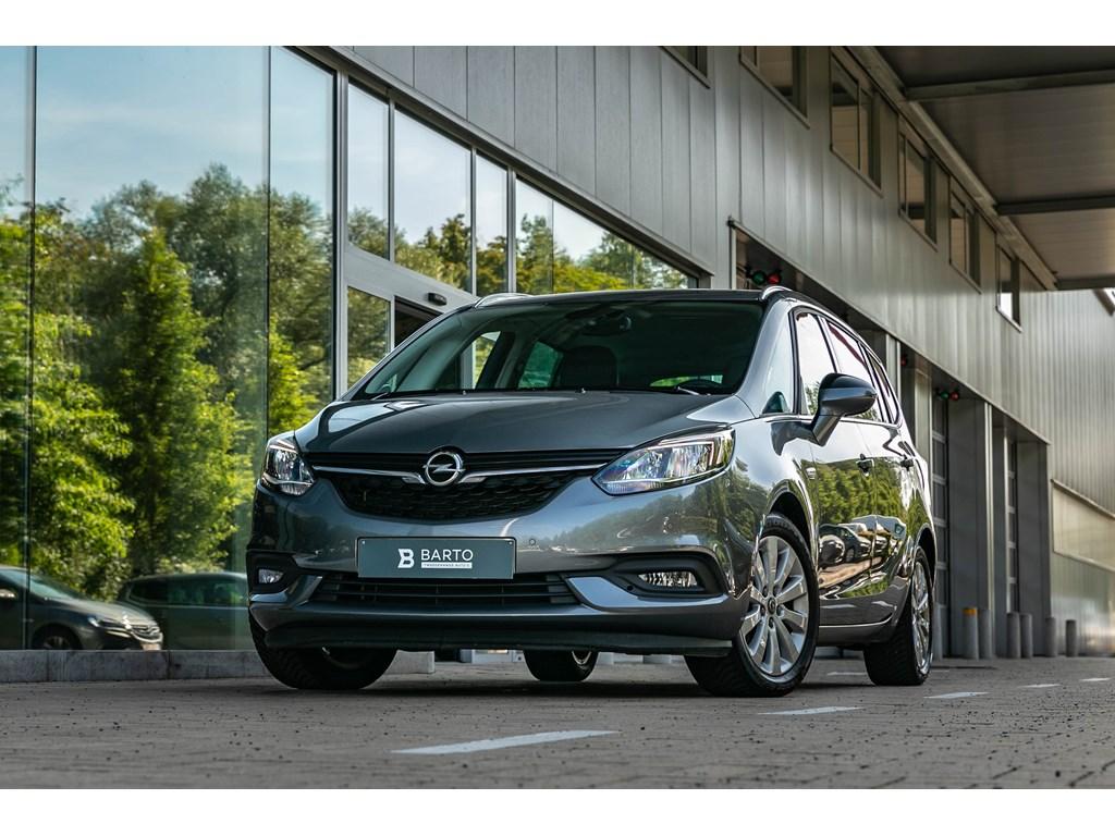 Opel-Zafira-Grijs-14b-140pk-Autom-7zit-Camera-Navi-Auto-Airco-Innovation