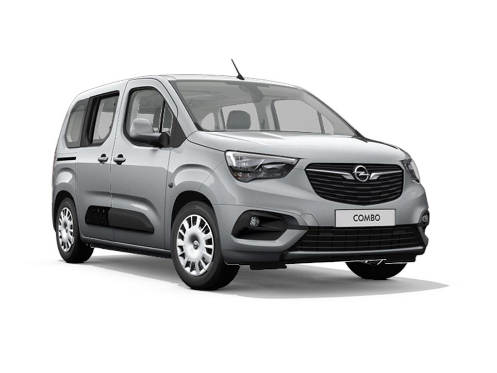Tweedehands te koop: Opel Combo Grijs - Life Edition 12 Turbo benz Manueel 6 StartStop - 110pk 81kw - 7pl - Nieuw
