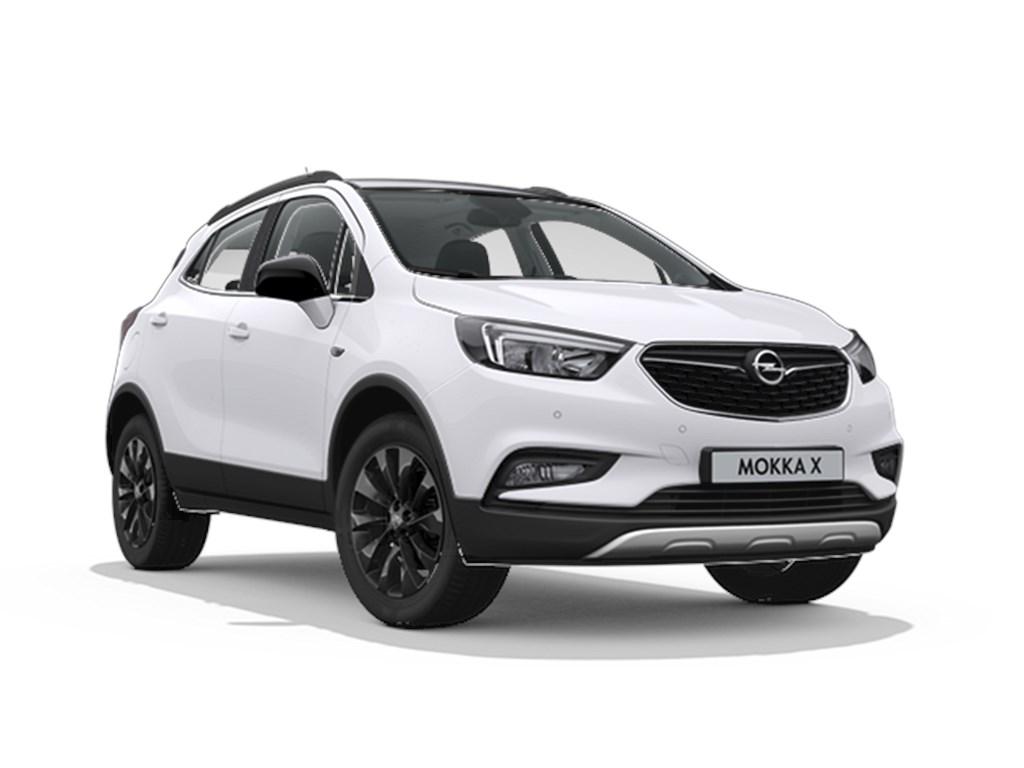 Tweedehands te koop: Opel Mokka X Wit - Innovation 14 Turbo benz Manueel 6 versnellingen StartStop - 120pk 88kw - Nieuw