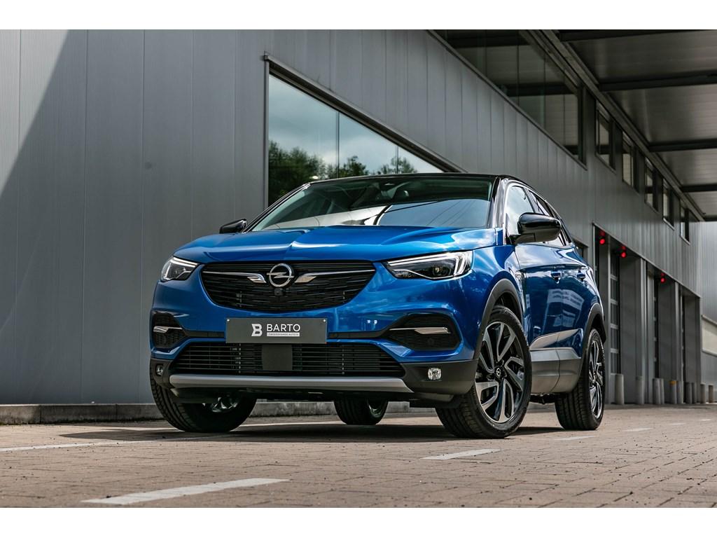 Tweedehands te koop: Opel Grandland X Blauw - 20D Autom 177pkLED360CameraDodehoek19