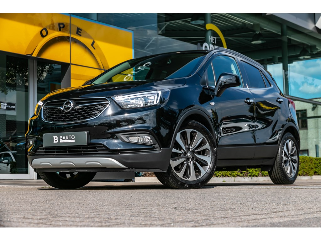 Tweedehands te koop: Opel Mokka Zwart - 14 Turbo AutomLederCameraParkeersensTrekhaak