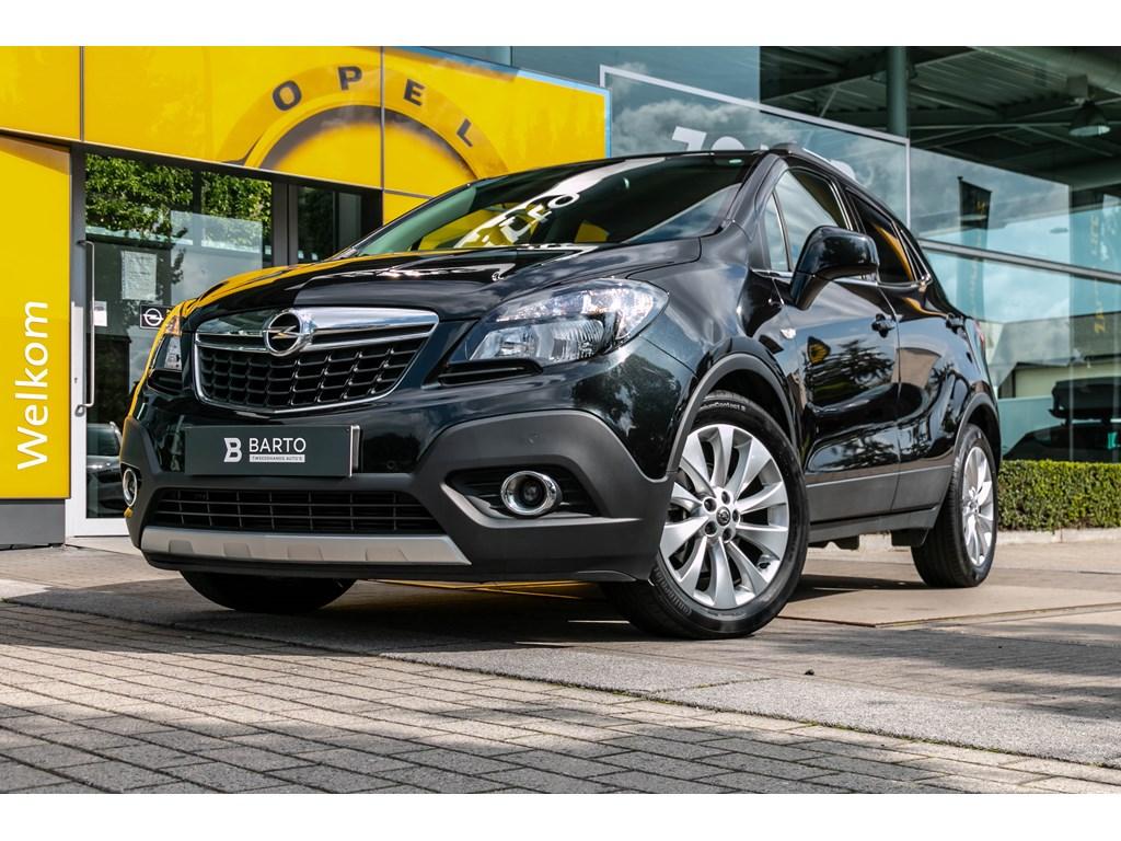Tweedehands te koop: Opel Mokka Zwart - Cosmo 14 Turbo NavigatieCameraParkeersensLeder