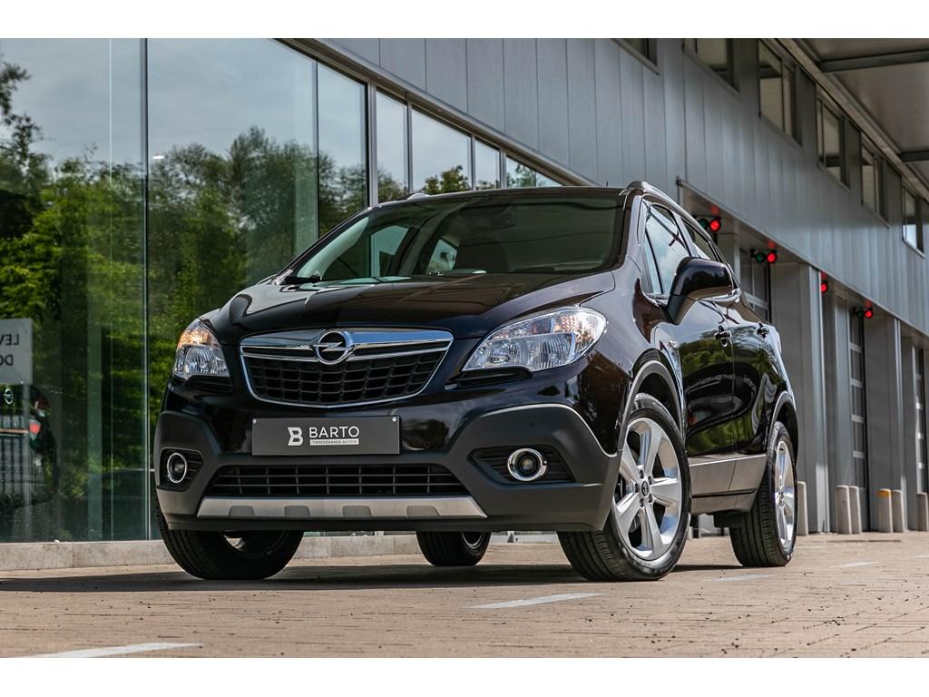 Opel-Mokka-Bruin-16benzCameraParkeersensAircoNavi