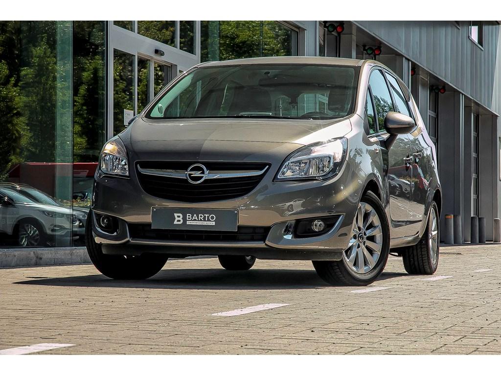 Tweedehands te koop: Opel Meriva Bruin - 14 Benzine Airco Parkeersens Alu velgen